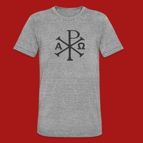 Kompasset-AP - Unisex tri-blend T-shirt fra Bella + Canvas