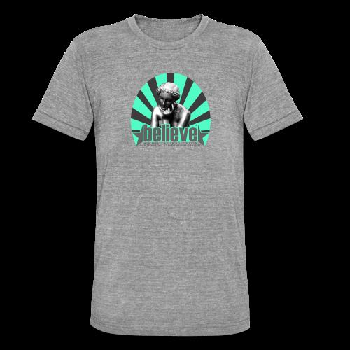 believe 3 (edition) - Unisex Tri-Blend T-Shirt von Bella + Canvas