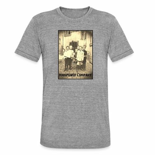 Manpower Company - Unisex Tri-Blend T-Shirt von Bella + Canvas