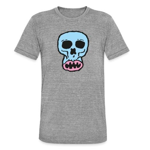 Helvetin iloinen ruulanko - Bella + Canvasin unisex Tri-Blend t-paita.