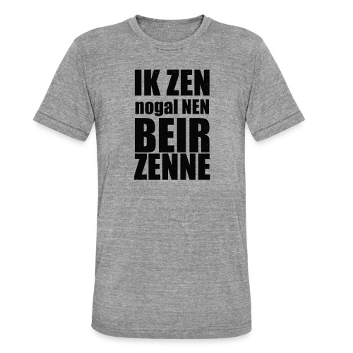 Beir - Unisex tri-blend T-shirt van Bella + Canvas
