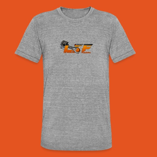 LSFlogo - T-shirt chiné Bella + Canvas Unisexe