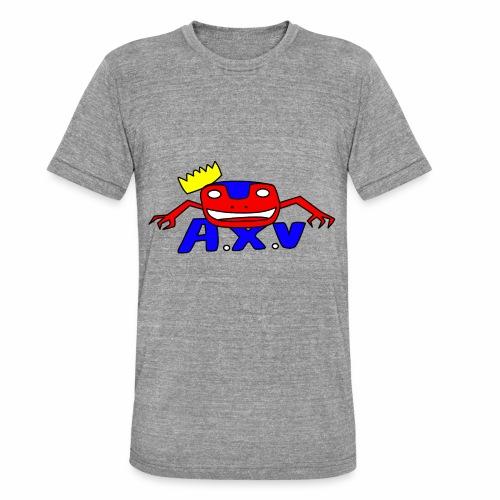 Frog world - T-shirt chiné Bella + Canvas Unisexe