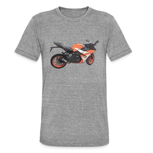 T-shirt Moto - T-shirt chiné Bella + Canvas Unisexe