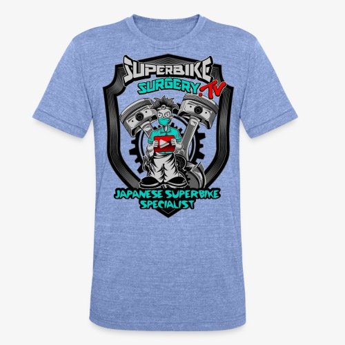Superbike Surgery TV - Unisex Tri-Blend T-Shirt by Bella & Canvas