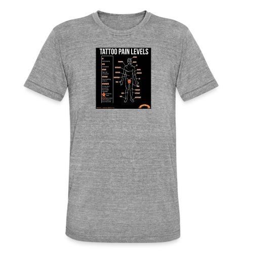 tatoo - T-shirt chiné Bella + Canvas Unisexe