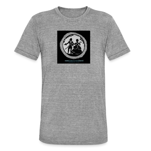 SHB - Näkymätön mies - Bella + Canvasin unisex Tri-Blend t-paita.