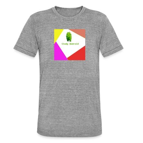 Study Android - Camiseta Tri-Blend unisex de Bella + Canvas
