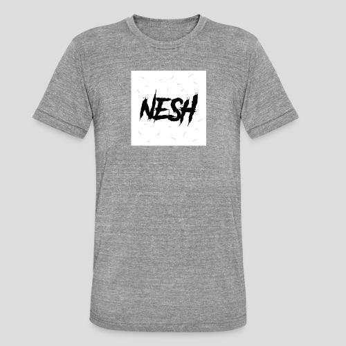 Nesh Logo - Unisex Tri-Blend T-Shirt von Bella + Canvas