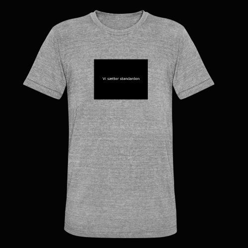 Vi Sætter Standarden - Unisex tri-blend T-shirt fra Bella + Canvas