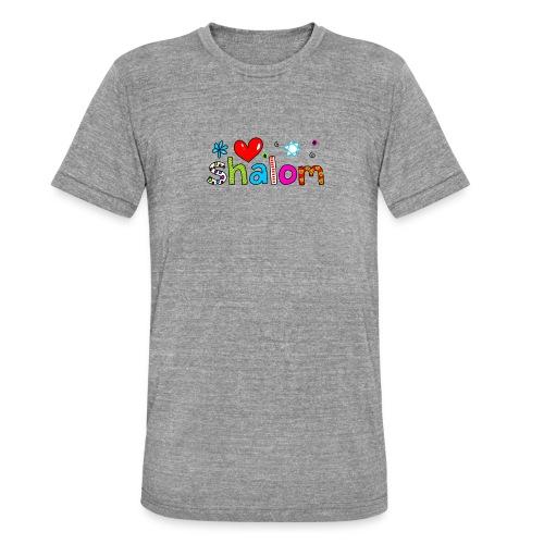 Shalom II - Unisex Tri-Blend T-Shirt von Bella + Canvas
