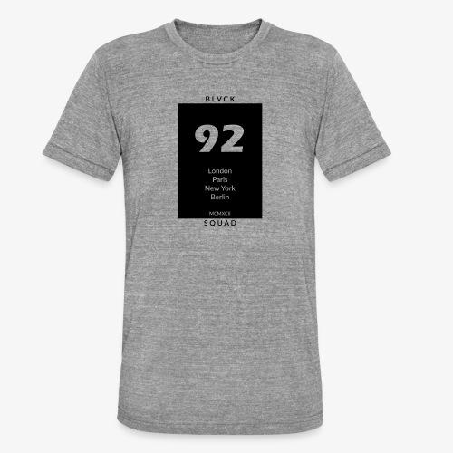 BLVCK SQUAD - Unisex Tri-Blend T-Shirt von Bella + Canvas