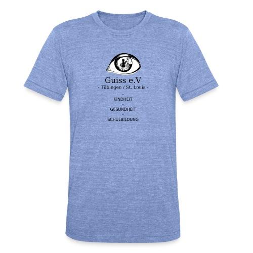 Guiss e.V - Unisex Tri-Blend T-Shirt von Bella + Canvas