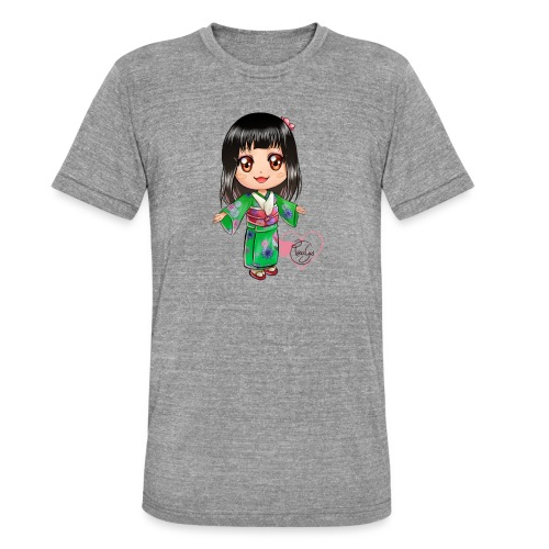 Rosalys crossing - T-shirt chiné Bella + Canvas Unisexe