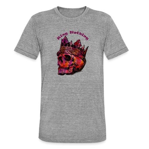 KingNothing - Unisex tri-blend T-shirt fra Bella + Canvas