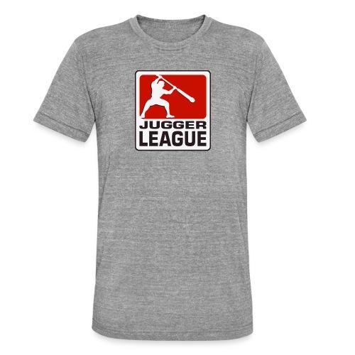 Jugger LigaLogo - Unisex Tri-Blend T-Shirt von Bella + Canvas
