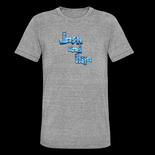 Josh and Ilija - Unisex Tri-Blend T-Shirt by Bella & Canvas