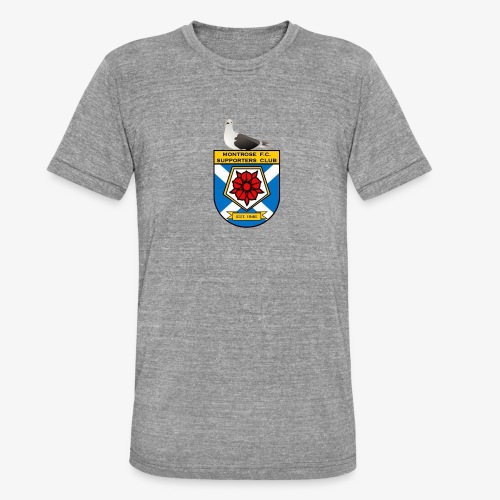 Montrose FC Supporters Club Seagull - Unisex Tri-Blend T-Shirt by Bella & Canvas