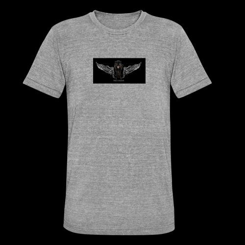 panthère ange - T-shirt chiné Bella + Canvas Unisexe