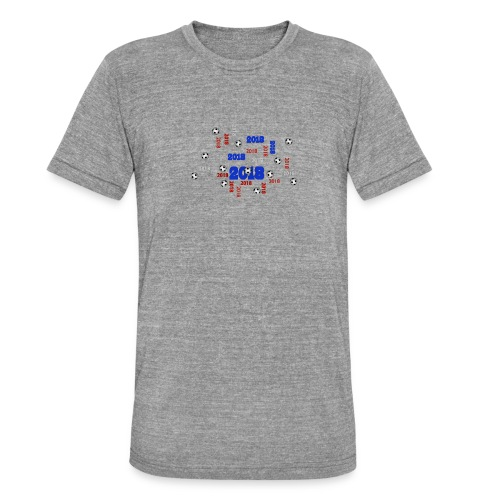 Football Event of the year 2018 - T-shirt chiné Bella + Canvas Unisexe