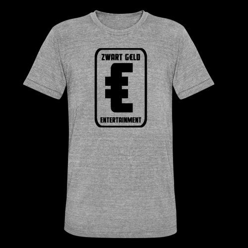 ZwartGeld Logo Sweater - Unisex tri-blend T-shirt van Bella + Canvas