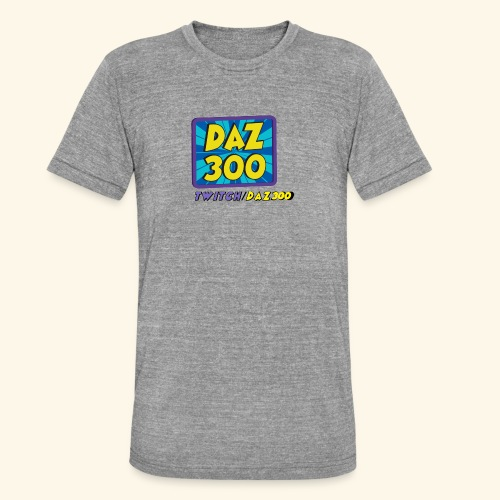 daz logo 2 0 - Unisex Tri-Blend T-Shirt by Bella & Canvas