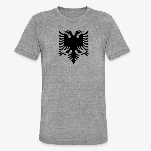 Shqiponja - das Wappen Albaniens - Unisex Tri-Blend T-Shirt von Bella + Canvas