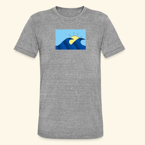 Espoir double wave - Unisex Tri-Blend T-Shirt by Bella & Canvas