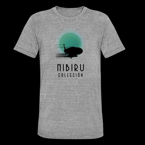 NibiruLogo - Camiseta Tri-Blend unisex de Bella + Canvas