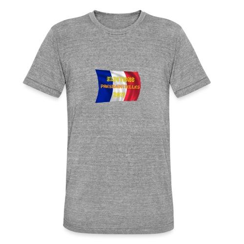 ELECTIONS 2017 - T-shirt chiné Bella + Canvas Unisexe