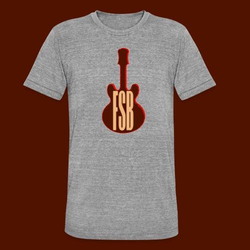 FSB Guitar Logo - Unisex Tri-Blend T-Shirt by Bella & Canvas