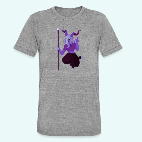 666 - T-shirt chiné Bella + Canvas Unisexe