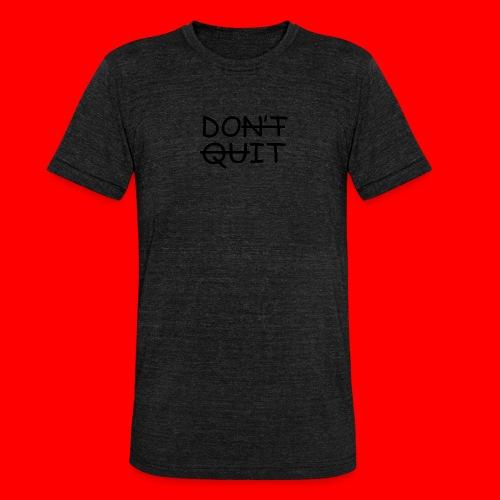 Don't Quit, Do It - Unisex tri-blend T-shirt fra Bella + Canvas