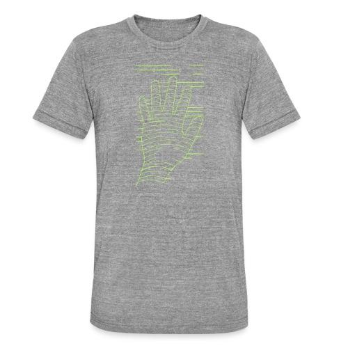 EigenHand gruen - Unisex Tri-Blend T-Shirt von Bella + Canvas