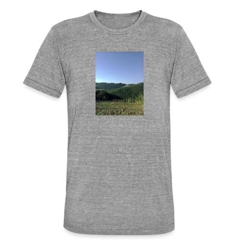 Panorama - Maglietta unisex tri-blend di Bella + Canvas