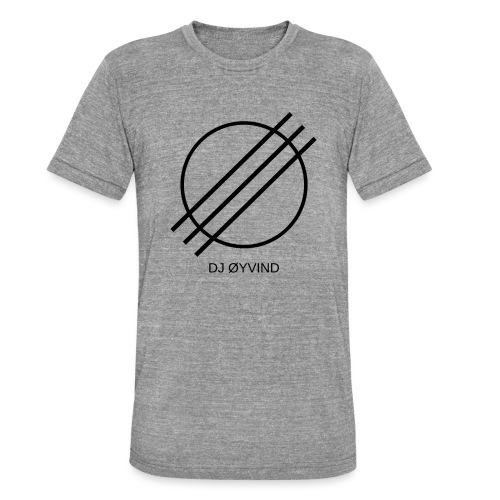 DJ Øyvind Logo (Offisiell) - Unisex tri-blend T-skjorte fra Bella + Canvas