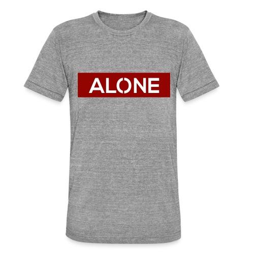 Alone RED Edition - Maglietta unisex tri-blend di Bella + Canvas