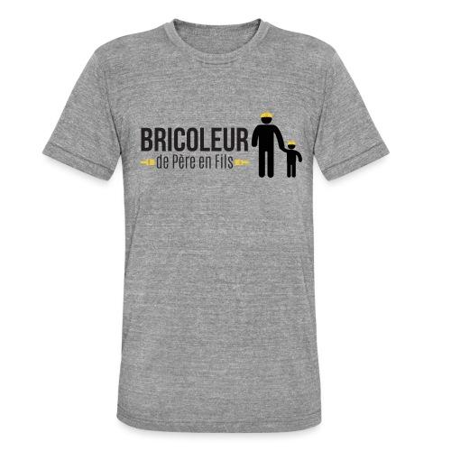 BRICOLEUR DE PERE EN FILS - T-shirt chiné Bella + Canvas Unisexe