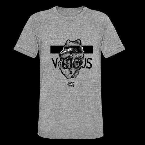 VICIOUS - Unisex tri-blend T-shirt fra Bella + Canvas