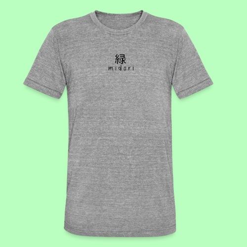 midori japan - black - Unisex Tri-Blend T-Shirt by Bella & Canvas