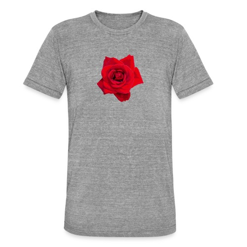 Red Roses - Koszulka Bella + Canvas triblend – typu unisex