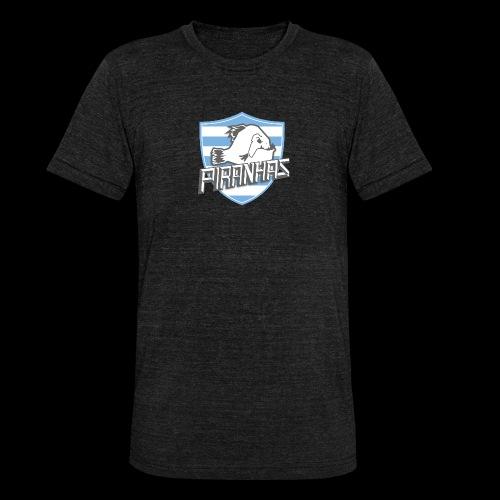Logo Piranhas v5 - T-shirt chiné Bella + Canvas Unisexe