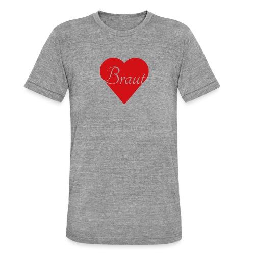 Braut - Unisex Tri-Blend T-Shirt von Bella + Canvas
