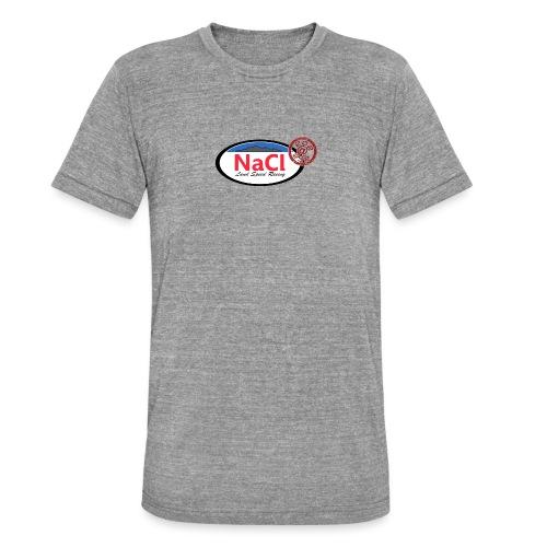 Logo NaCl - T-shirt chiné Bella + Canvas Unisexe