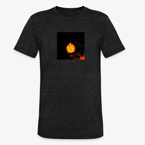 FIRE BEAST - Unisex tri-blend T-shirt van Bella + Canvas