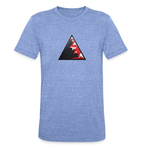 Climb high as a mountains to achieve high - Unisex Tri-Blend T-Shirt by Bella & Canvas