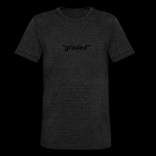Simple Logo, Graded - Unisex Tri-Blend T-Shirt by Bella & Canvas