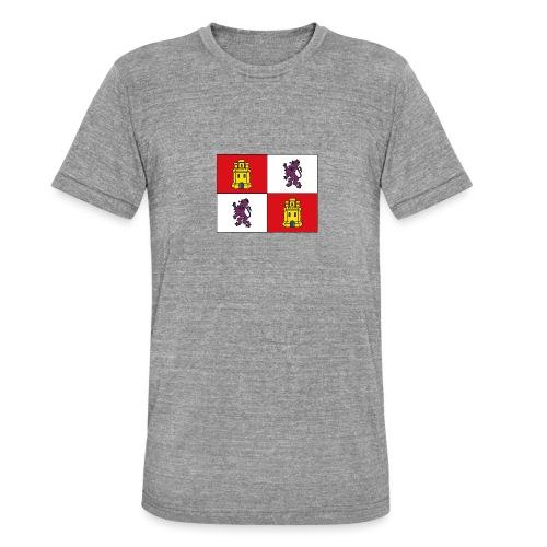 ESCUDO CASTILLA Y LEON - Camiseta Tri-Blend unisex de Bella + Canvas