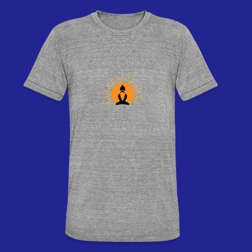 Guramylyfe logo no text black - Unisex Tri-Blend T-Shirt by Bella & Canvas