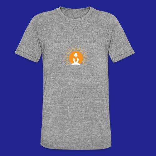 Guramylyfe logo white no text - Unisex Tri-Blend T-Shirt by Bella & Canvas